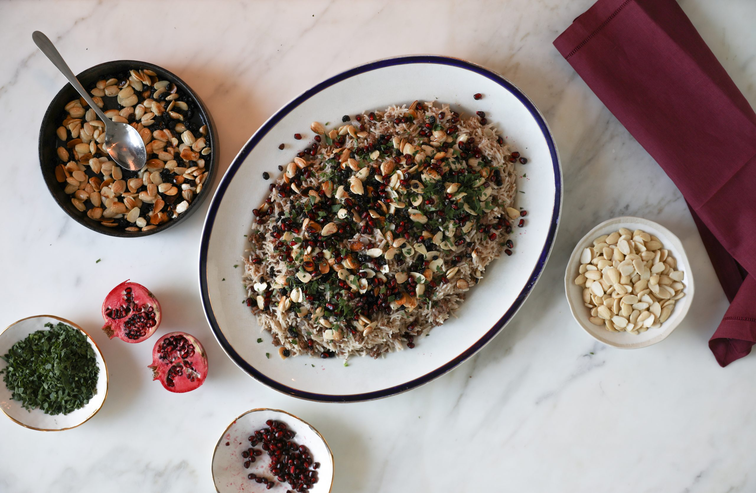 Tagrid's Lebanese Spiced Rice