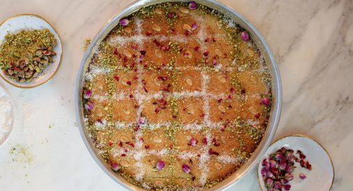 Mama G's Lebanese Semolina Cake (Namoura)