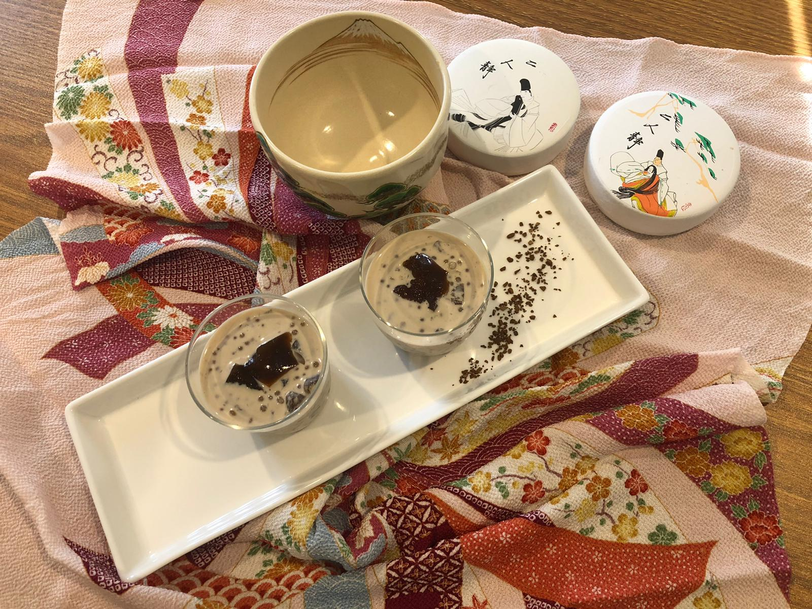 Sueda's Japanese Sweet Tapioca with Coffee Jelly
