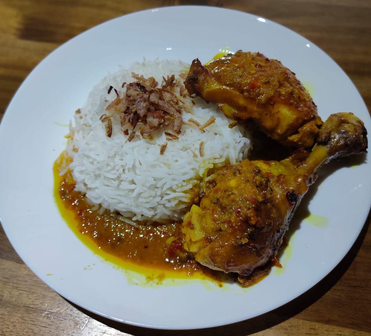 Calisha's Cocos Islander Ayam Panggang