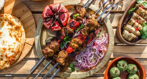 Mustafa's Turkish Shish Kebab