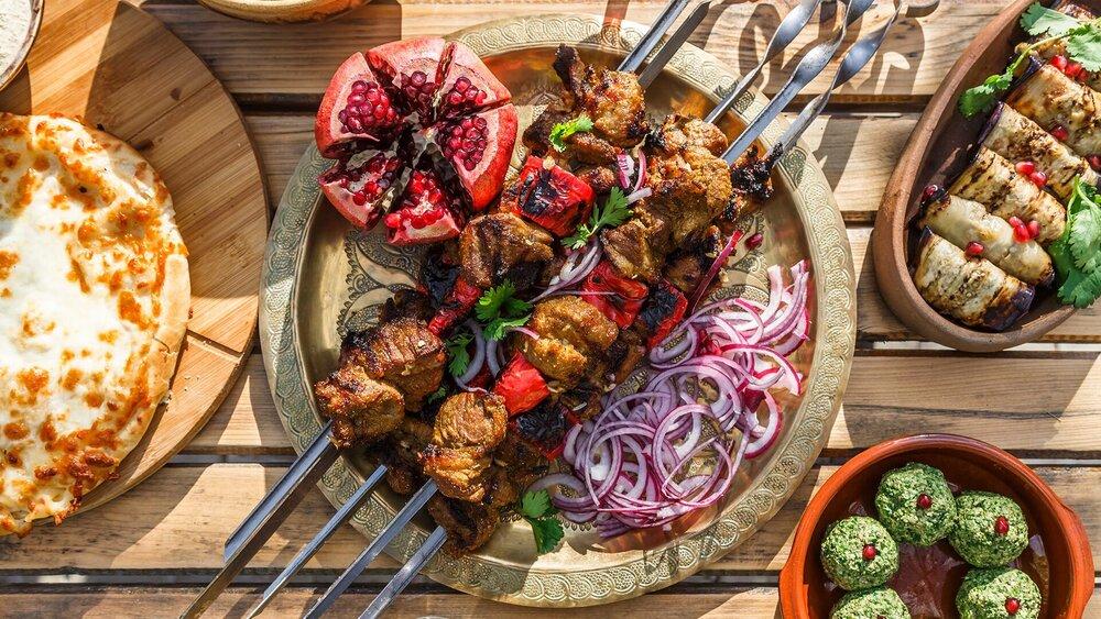 Mustafa's Turkish Shish Kebab