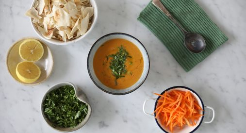 Shahrouk Sisters' Lebanese Red Lentils Soup